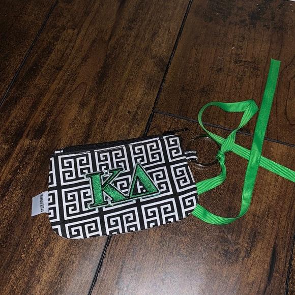 Kappa delta KD coin purse